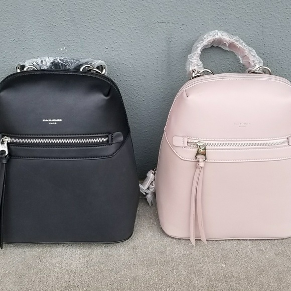 0622ed0a97dd David Jones Paris Bags   Backpack In Black Or Blush   Poshmark